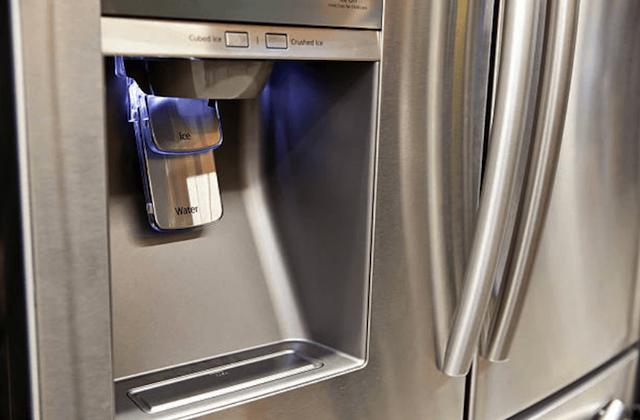 defective refrigerator water dispenser