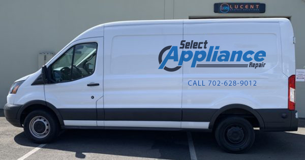 las vegas appliance repair van